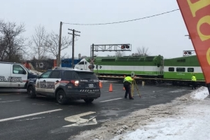 'Possible fatality' as pregnant woman, child hit by GO train in Kitchener