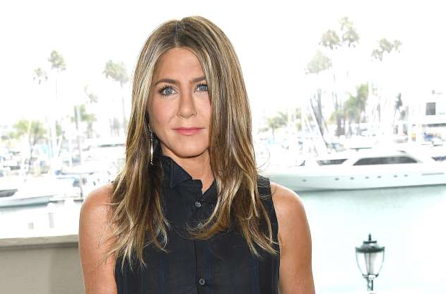 Slide 1 of 63: MARINA DEL REY, CALIFORNIA - JUNE 11: Jennifer Aniston poses at the Photocall Of Netflix's