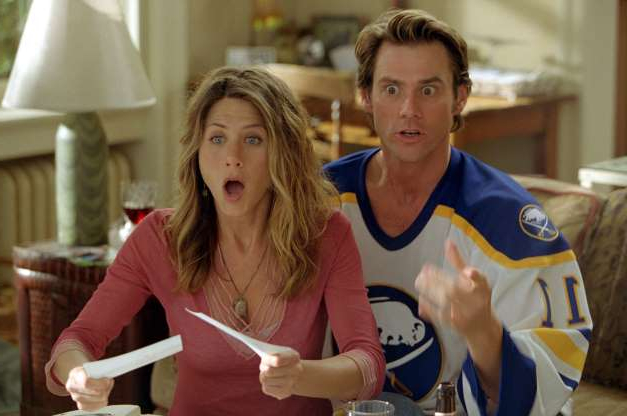 Slide 20 of 63: Bruce Almighty, Jim Carrey, Jennifer Aniston