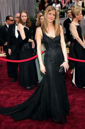 Slide 29 of 63: HOLLYWOOD - MARCH 5: Actress Jennifer Aniston arrives to the 78th Annual Academy Awards at the Kodak Theatre on March 5, 2006 in Hollywood, California. (Photo by Frazer Harrison/Getty Images)