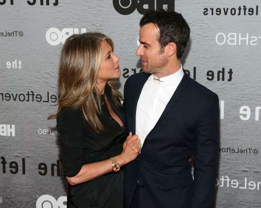 Slide 47 of 63: NEW YORK, NY - JUNE 23: Actors Justin Theroux and Jennifer Aniston attend 'The Leftovers' premiere at NYU Skirball Center on June 23, 2014 in New York City. (Photo by Taylor Hill/FilmMagic)