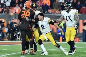 Could Mason Rudolph consider legal action against Myles Garrett?