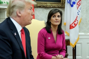 Nikki Haley: 'I do think we should always protect whistleblowers'