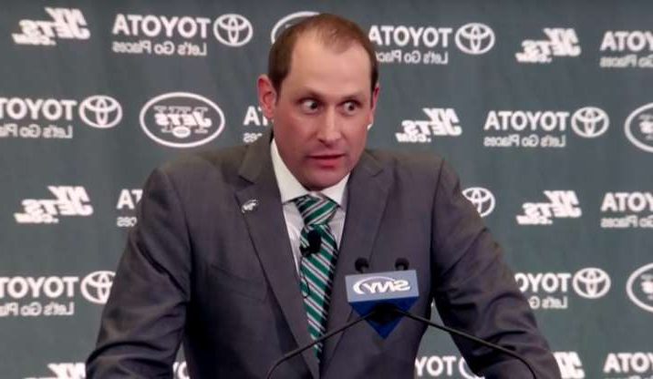 Slide 22 of 26: Adam Gase's introductory press conference as Jets head coach was strange, and Gase was the reason. He looked overcaffeinated, to put it kindly, and his wild-eyed stare was darting around the room the whole time. Most coaches are intense on the sideline, but Gase looked like he was about to run through a brick wall despite wearing a suit and tie. Seriously, just look at that stare. That was the man trusted with getting the most out of Sam Darnold. Hard to figure why it hasn't worked out well so far. SNY on YouTube