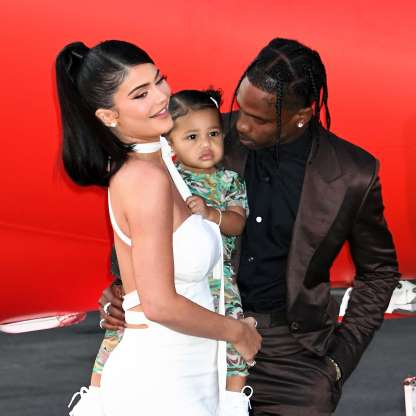 Slide 13 of 117: It's over between Kylie Jenner and Travis Scott. On Oct. 1, TMZ broke the news that the reality TV star-turned-beauty mogul and the rapper, who share 1-year-old daughter Stormi, split after about two and a half years together. As TMZ put it,