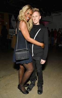 Slide 21 of 117: Laverne Cox and her boyfriend of nearly two years, Kyle Draper, ended their relationship in June, the
