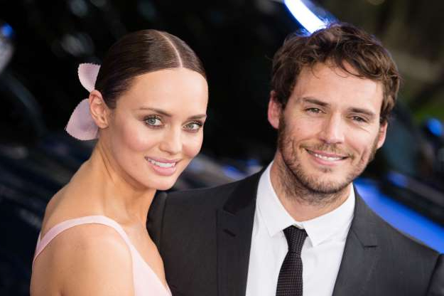 Slide 22 of 117: British actors Sam Claflin and Laura Haddock took to their Instagram Stories to announce that they were separating after six years of marriage.
