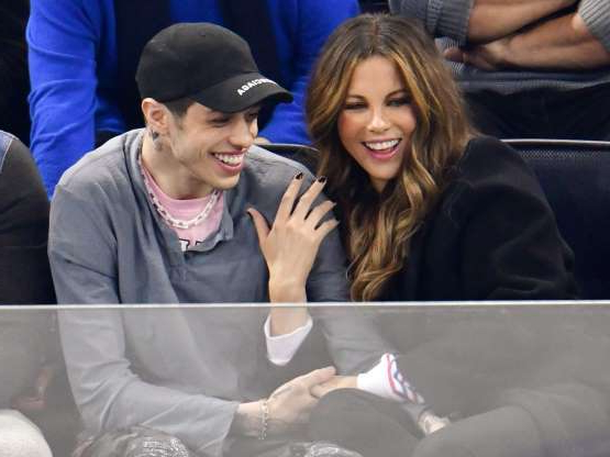 Slide 28 of 117: April saw the end of Kate Beckinsale and Pete Davidson's whirlwind romance that was full of PDA and bicoastal visits.