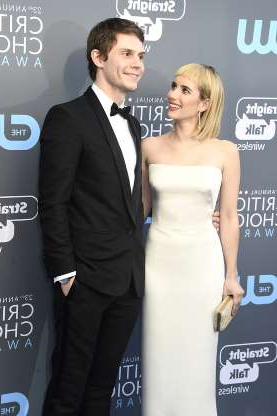 Slide 30 of 117: In March, reports confirmed that Emma Roberts had called off her engagement and ended her on-and-off relationship with Evan Peters.