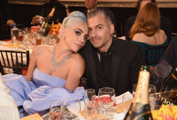 Slide 41 of 117: After Lady Gaga attended the Grammys on Feb. 10 without her giant pink gemstone engagement ring -- and minus fiancé Christian Carino -- speculation erupted as fans wondered if the singer-actress and her agent had called it quits. On Feb. 19, People magazine confirmed that the pair, who started dating in early 2017, had indeed ended their romance.