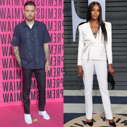 Slide 77 of 117: After a few months of casual dating, supermodel Naomi Campbell decided her relationship with former One Director singer Liam Payne had run its course, reportedly claimed.