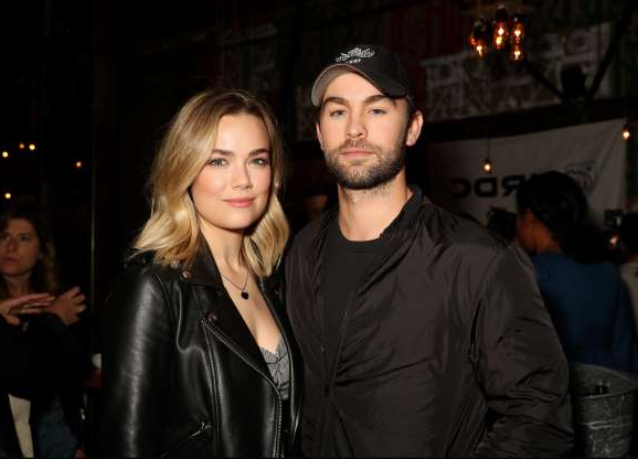 Slide 78 of 117: In May, Chace Crawford confirmed that his three-year relationship with Rebecca Rittenhouse had ended. They met in 2015 on the set of their show