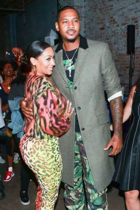 Slide 99 of 117: In July, a rep for La La Anthony confirmed that the actress and husband Carmelo Anthony had called it quits again. In late June, rift rumors hit the couple when La La celebrated her birthday with friends in New York City as the basketball star spent time with a swimsuit-clad mystery woman on a yacht off the coast of France (though Melo denied anything physical happened with her). Publicly, La La dismissed her husband's absence from her birthday festivities and was very thankful for his gifts and gestures, a source told People. However, by the end of June, it was clear La La had had enough..