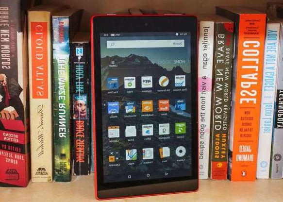 a book shelf filled with books: Starting Nov. 22, the Fire HD 8 will be on sale for $50 (16GB version). At that price, it's still arguably the best budget tablet you can get.