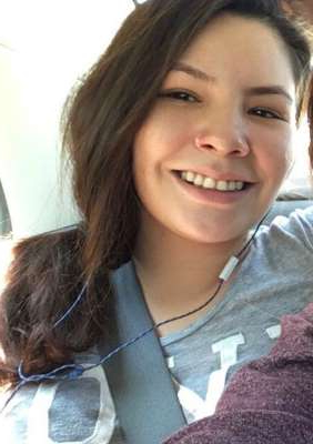 a woman smiling for the camera:  A body discovered outside Hinton in May, 2019 has now been identified as Nature Duperron, 25-year-old woman from Athabasca.
