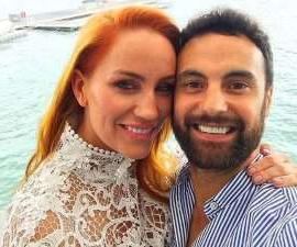 a person posing for the camera: Married At First Sight's Jules Robinson and Cameron Merchant tied the knot in Sydney on Saturday, 16th of November. The reality TV couple's nuptials will be shown in a special event episode of A Current Affair.