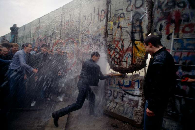 The Fall of the Berlin Wall in Photos: An Accident of History That Changed The World