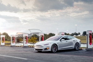 A Tesla Supercharger station caught fire at a Wawa in New Jersey