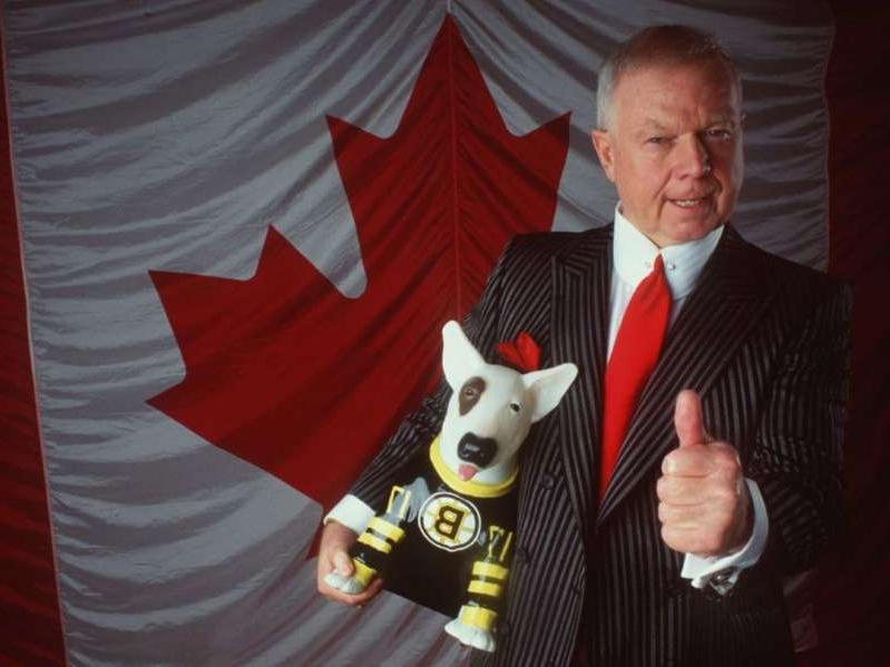 Don Cherry wearing a suit and tie