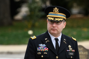 Lt. Col. Vindman to describe his alarm over president's call with Ukrainian leader, girding for Republican attack