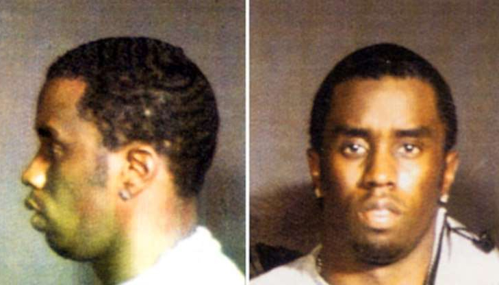 Slide 105 of 113: Police mugshots Sean Combs