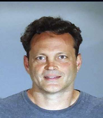 Slide 13 of 113: In this Sunday, June 10, 2018, booking photo released by the Manhattan Beach Police Department shows actor Vince Vaughn. Vaughn was arrested on suspicion of drunken driving early Sunday at a sobriety checkpoint in the Southern California beach town. Vaughn has since been released from custody. (Manhattan Beach Police Department via AP)