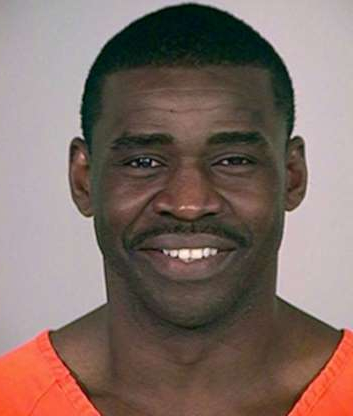 Slide 94 of 113: Police mugshots Michael Irvin