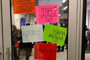 Syracuse University: More racist graffiti found