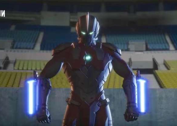a person wearing a costume: The Japanese superhero Ultraman returns in a new Netflix series.