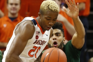 Diakite, No. 7 Virginia hold off Vermont, 61-55