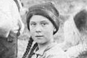 Image of a girl from 1898 who looks EXACTLY like Greta Thunberg sends conspiracy theorists into meltdown as they claim she's a 'time traveller sent to save us'
