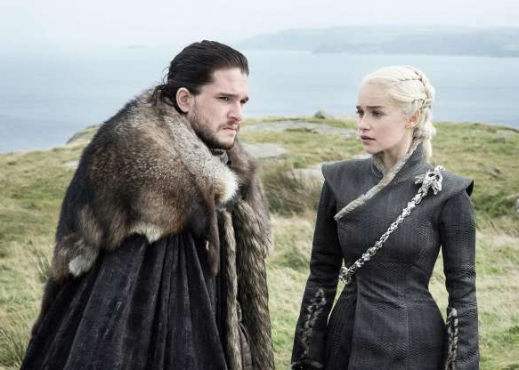John Snow standing next to a woman smiling for the camera: Winter has finally come and gone for Game of Thrones, but there are a bunch of plenty sci-fi, fantasy, horror and generally geeky TV shows to obsess over and revisit in 2019. Whether they're on traditional television or on new streaming services from Disney, Apple and DC, here are some of the episodic adventures you'll binge this year.