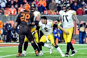 Mason Rudolph takes responsibility for role in Myles Garrett fight