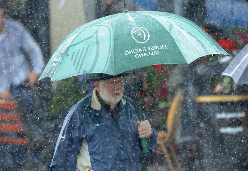 Rainfall levels are above normal for the past two weeks, the latest figures from Met Eireann, with more cold and wet weather expected in the coming days.