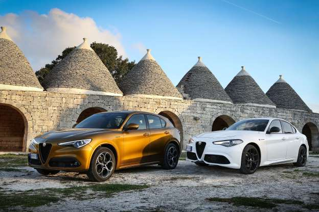 Slide 1 of 37: Alfa Romeo has rolled out several upgrades to their core lineup for the 2020 model year by reworking the interiors of the Giulia sedan and Stelvio SUV and adding new technology features. Read the full story here.