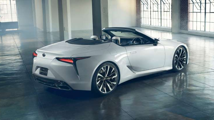 Slide 14 of 21: Lexus-LC-Convertible-Concept-9.jpg