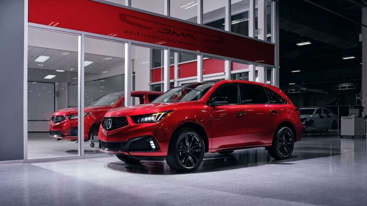 Auto Shows The 2020 Acura Mdx Pmc Edition Brings Supercar