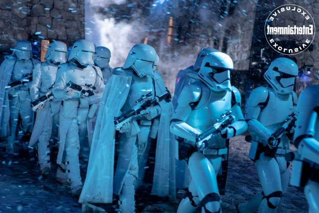 Slide 6 of 12: A storm of stormtroopers (and snowtroopers) on the march.