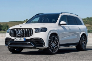 The 2021 Mercedes-AMG GLS63 Has 100+ HP More Than Your C8 Corvette