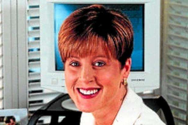 a person smiling for the camera: Simone Semmens was a Channel 7 newsreader.