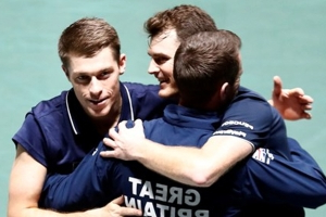 Andy Murray absence can't stop Great Britain as Jamie secures Davis Cup quarter-final