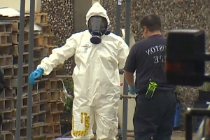FBI, DEA, hazmat teams conducting raid in at northwest Houston building