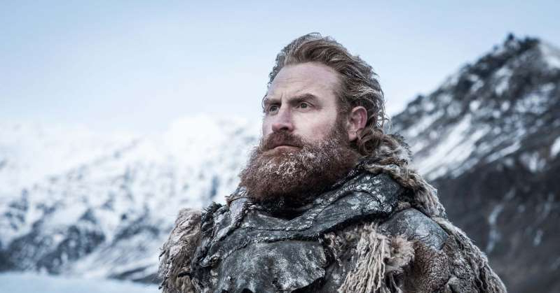 Kristofer Hivju that is standing in the snow: Game of Thrones Actor Says the Cast Shot an Alternative Ending for Controversial Final Season