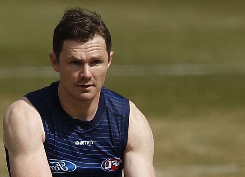 Patrick Dangerfield of the Cats