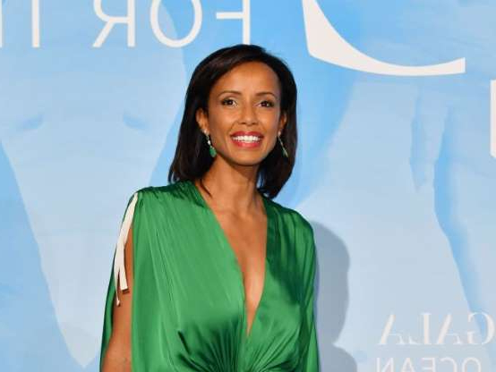 Diapositive 3 sur 9: Sonia Rolland - Photocall de Monte Carlo Gala for the Global Ocean sur les terrasses de l'opéra de Monte-Carlo le 26 septembre 2019. © Bruno Bebert / Bestimage