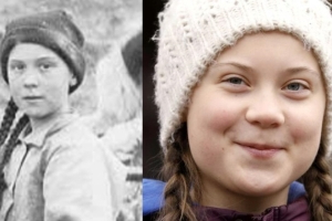 Greta Thunberg 'time traveller' photo 'most definitely' original, library confirms