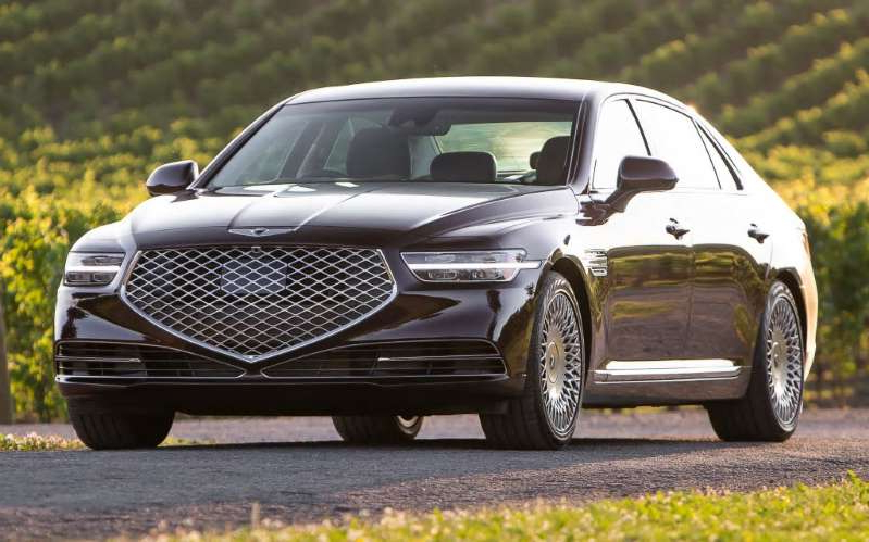 Image result for 2020 Genesis G90: Photo Gallery Points Out Everything New On Restyled Flagship