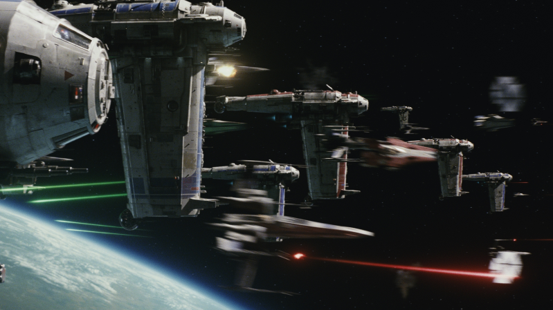Some cool spaceships from The Last Jedi. (Image: Disney/Lucasfilm)
