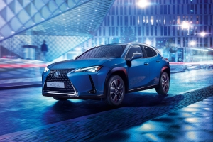 2021 Lexus UX 300e is brand's first electric car
