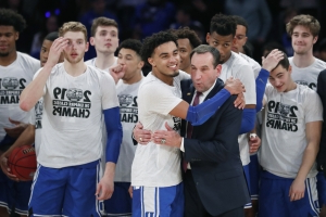 Duke solidifies No. 1 in AP Top 25 poll after tourney win